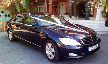 Malaga airport transfers are also used for weddings and excursions
